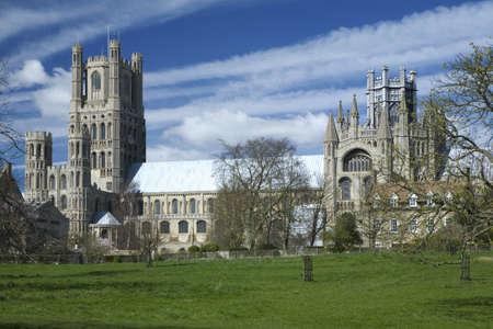 cambridgeshire: Ely Cathedral in the City of Ely, Cambridgeshire Uk Stock Photo