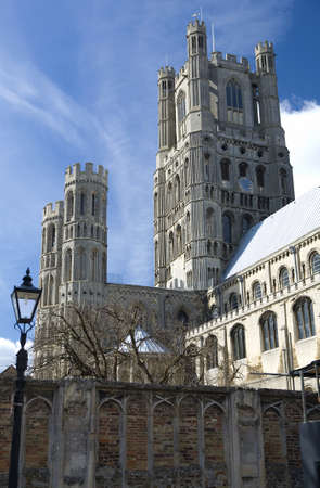 Ely Cathedral in the City of Ely, Cambridgeshire Uk Stock Photo - 9103170