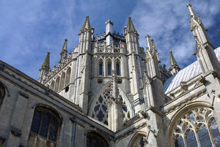 Ely Cathedral in the City of Ely, Cambridgeshire Uk Stock Photo