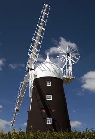 cambridgeshire: Stretham Windmill in the village of Sutton, Cambridgeshire Stock Photo