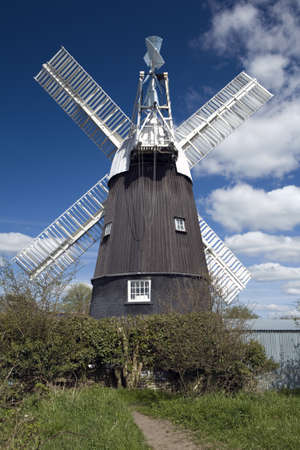 Wicken Windmill in the county of Cambridgeshire Stock Photo - 9103165
