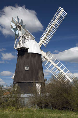 Wicken Windmill in the county of Cambridgeshire Stock Photo - 9103166