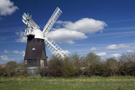 Wicken Windmill in the county of Cambridgeshire Stock Photo - 9103161