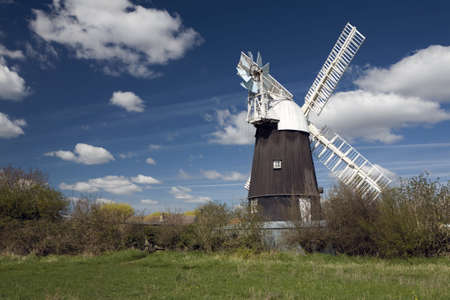 Wicken Windmill in the county of Cambridgeshire Stock Photo - 9103169