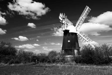 Wicken Windmill in the county of Cambridgeshire Stock Photo - 9103171