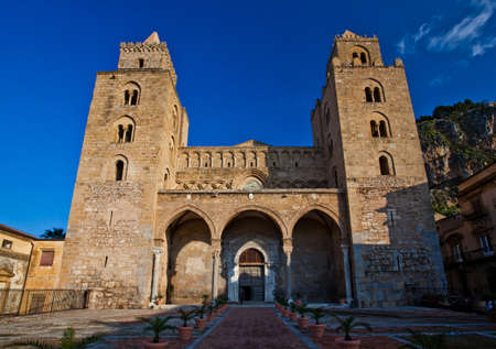 The Cathedral-Basilica of Cefalu Stock Photo - 18811363