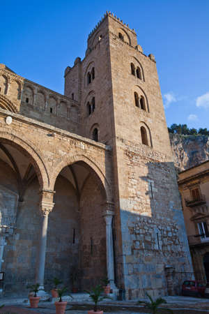 The Cathedral-Basilica of Cefalu  Stock Photo - 18812134