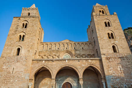 The Cathedral-Basilica of Cefalu  Stock Photo - 18811784