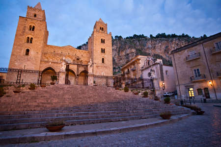The Cathedral-Basilica of Cefalu Stock Photo - 18812125