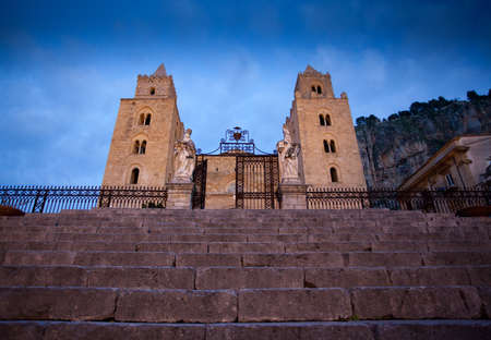 The Cathedral-Basilica of Cefalu Stock Photo - 18812111