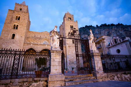 The Cathedral-Basilica of Cefalu  Stock Photo - 18812064