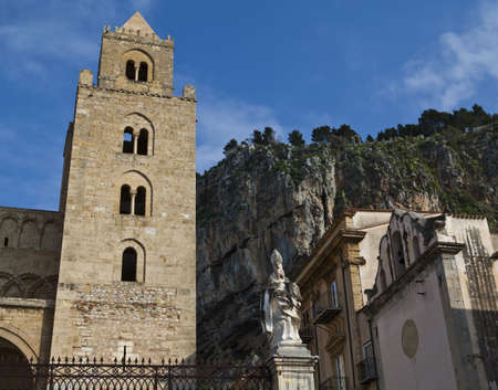 The Cathedral-Basilica of Cefalu Stock Photo - 18811369