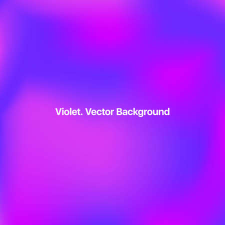 Abstract Digital Background. Violet Abstract Background. Gradient Background. Purple Movement Illustration. Neon Minimal Pattern. Blue Flow Brochure. Mesh Vector Background.