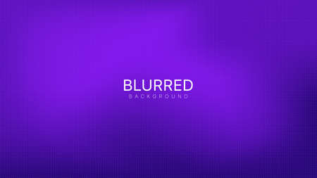 Blurred Violet Gradient Abstract Vector Background