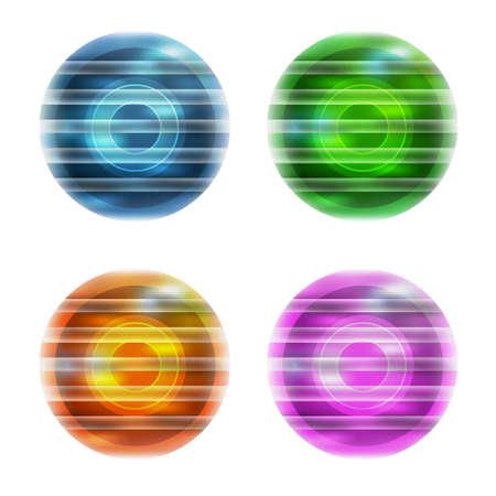 bstract: äbstract ball Illustration