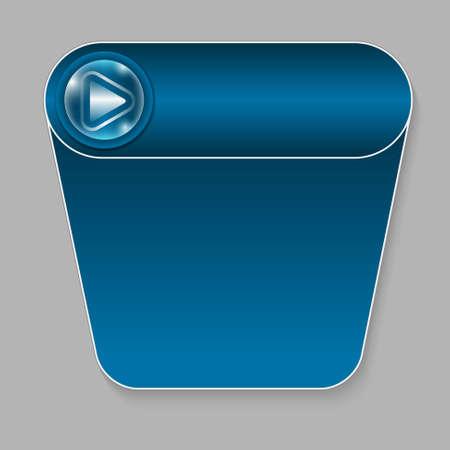 abstract button Vector