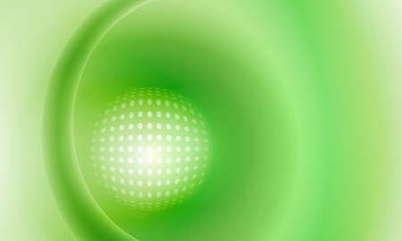powe: green vector abstract background with grid Illustration