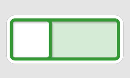 vector frame for text Vector