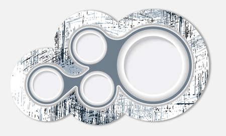 circle text box object