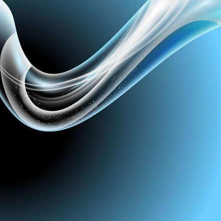 backgroud: blue modern abstract backgroud Illustration