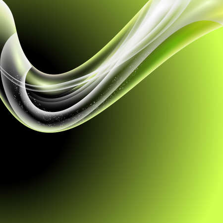 green modern abstract backgroud Illustration