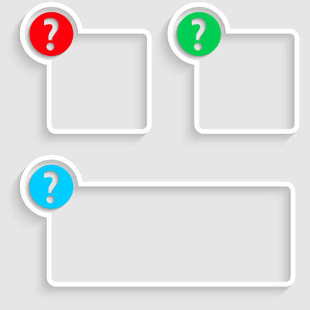 text box with question mark