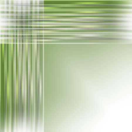 green abstract background with light lines Vector
