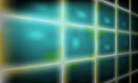 perspective grid: Vector abstract background with perspective grid