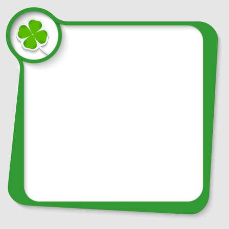 cloverleaf: green text box with cloverleaf