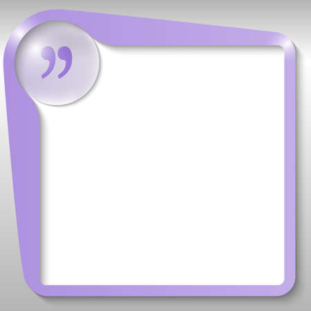 quotation: purple text box with quotation mark