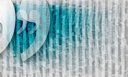 vector de fondo abstracto con las rayas y las comillas transparentes