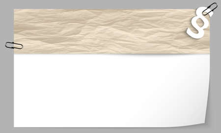 statute: text box with texture of paper and paragraph Illustration