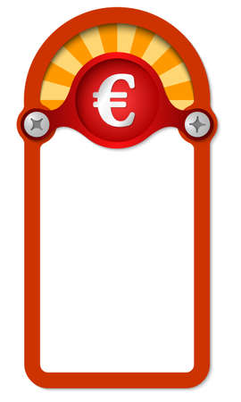 euro screw: red vertical box for any text with euro symbol