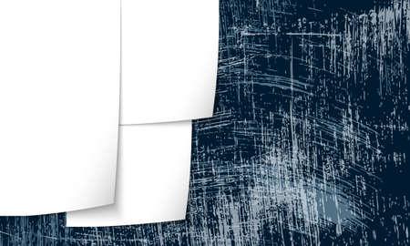 carta da lettere: sfondo carta da lettere e graffiato Vettoriali