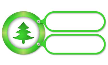 annular: green frames and tree symbol