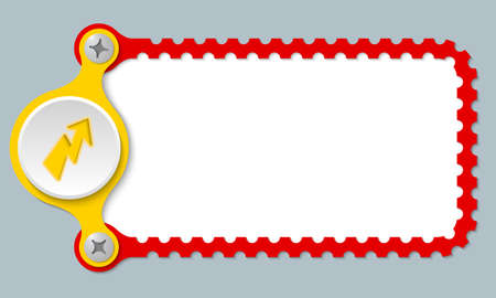 perforated: vector perforated frame and flash Illustration