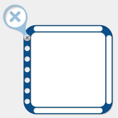 multiplicaci�n: marco perforado para cualquier texto y la multiplicaci�n de s�mbolos