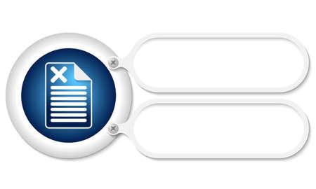 multiplicacion: marcos blancos y documento icono y s�mbolo de multiplicaci�n