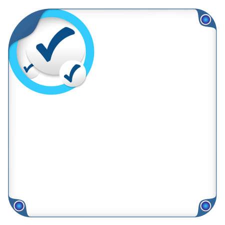 check box: color box for entering text and check box