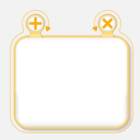 multiplicaci�n: Marco de texto para el texto y m�s, s�mbolos de multiplicaci�n Vectores