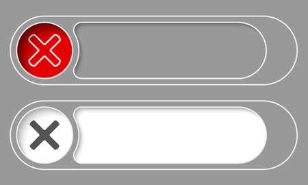 multiplicacion: Juego de dos simples botones y el s�mbolo de la multiplicaci�n