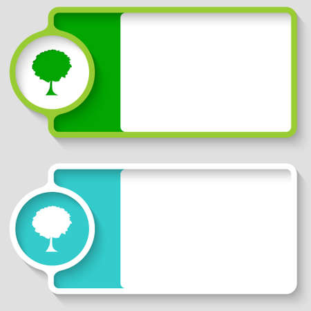 broad: Colored boxes for your text and tree symbol