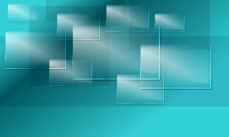 Abstract background and transparent glass panels Ilustrace