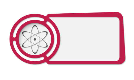 fill in: Abstract frame for your text and science icon