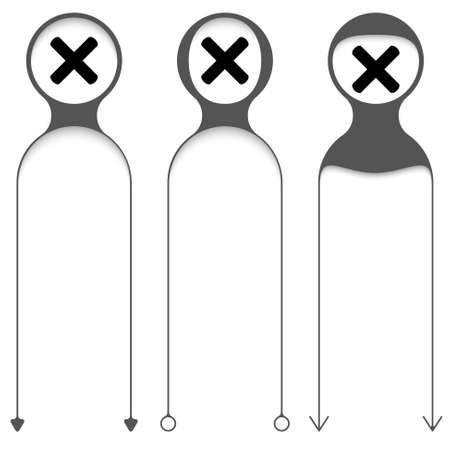 multiplicacion: Tres marcos de vector para el texto y la multiplicación símbolo