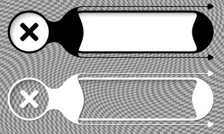 multiplicacion: Dos botones de vector con símbolo de multiplicación y resumen de antecedentes