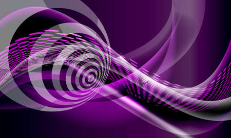 purple abstract background: Purple vector abstract background with lines and waves