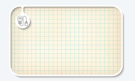 graph paper: Text box for fill your text and graph paper