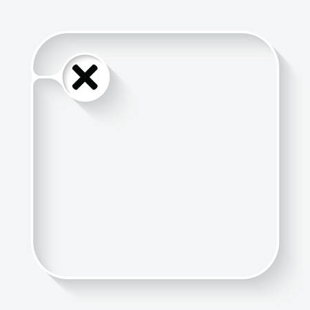 multiplication: A white text box with and multiplication symbol