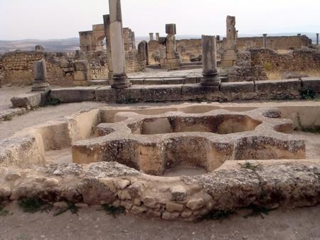 volubilis: Bath in Volubilis
